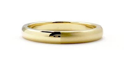 イエローゴールド 結婚指輪