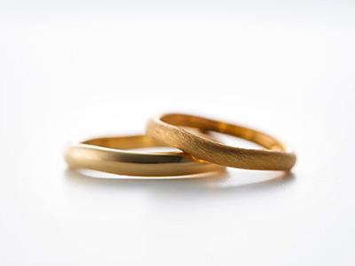 ゴールド 結婚指輪