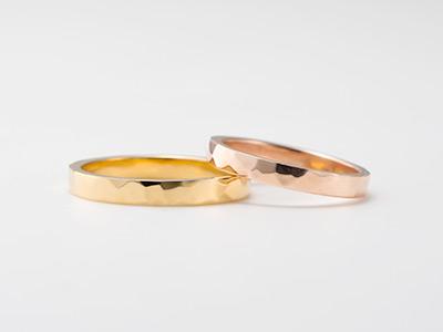 鎚目 結婚指輪