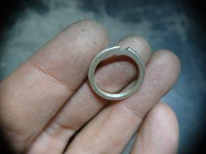 結婚指輪の原型1