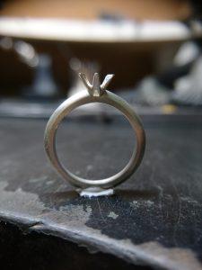婚約指輪 ソリテール エンゲージリング MIKOTO 鶴