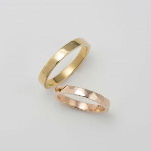 槌目 結婚指輪
