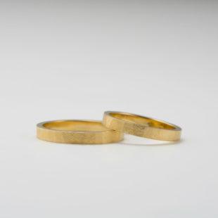 錆加工の結婚指輪