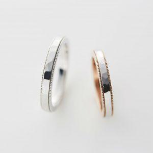 ミルグレイン 指輪