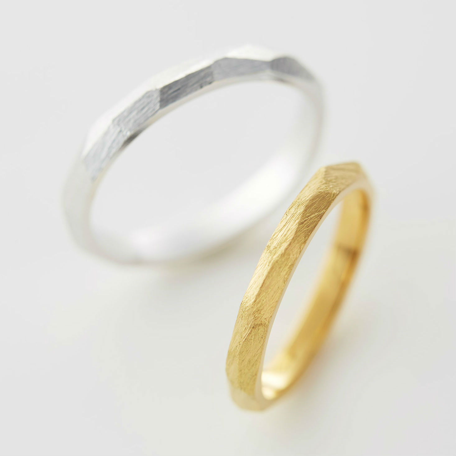 多面体の結婚指輪