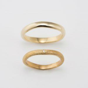 イエローゴールド 指輪