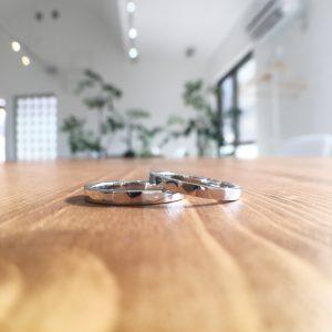 オーダーメイド 槌目 結婚指輪