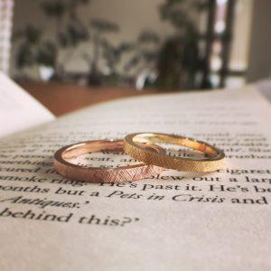 おしゃれ 結婚指輪
