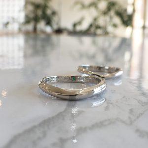 カーブデザイン 結婚指輪