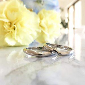デザイン違い 結婚指輪