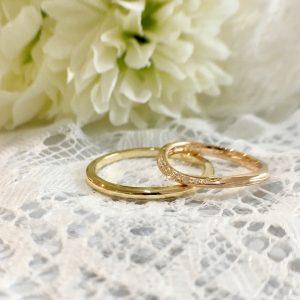 甲丸 結婚指輪 オーダーメイド