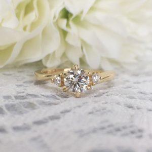 ゴールド 婚約指輪 オーダーメイド
