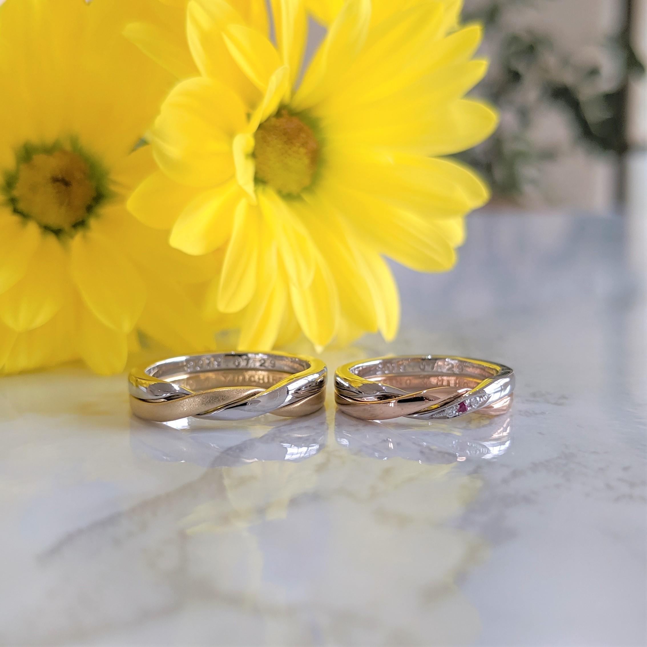 ギメルリング ギメル結婚指輪