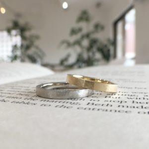 シンプル 結婚指輪 オーダーメイド