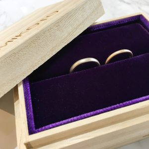鶴 mikoto 結婚指輪 納品ケース