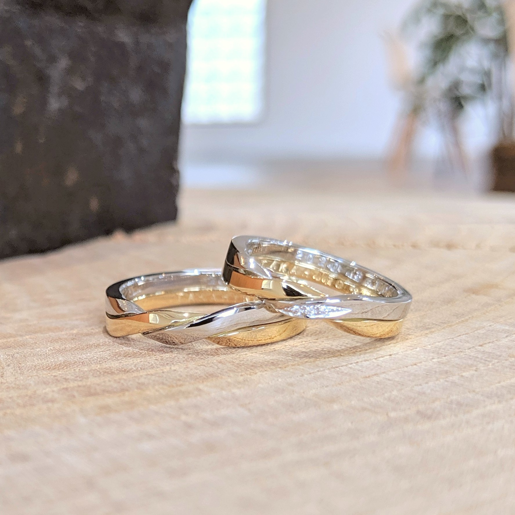 ギメルリング 結婚指輪 オーダーメイド