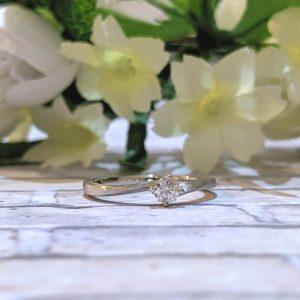 プラチナ 婚約指輪 オーダーメイド