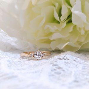 つけ心地 婚約指輪 オーダーメイド