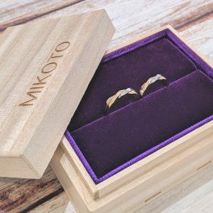 鶴 mikoto 結婚指輪 ケース