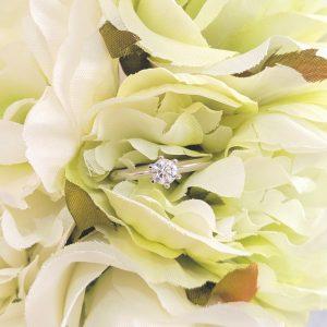 女性の誕生日に贈る婚約指輪