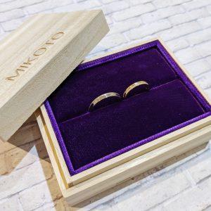 結婚指輪 納品ケース