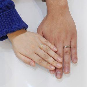 結婚指輪 手