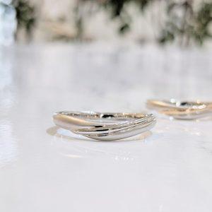 結婚指輪 コンビ