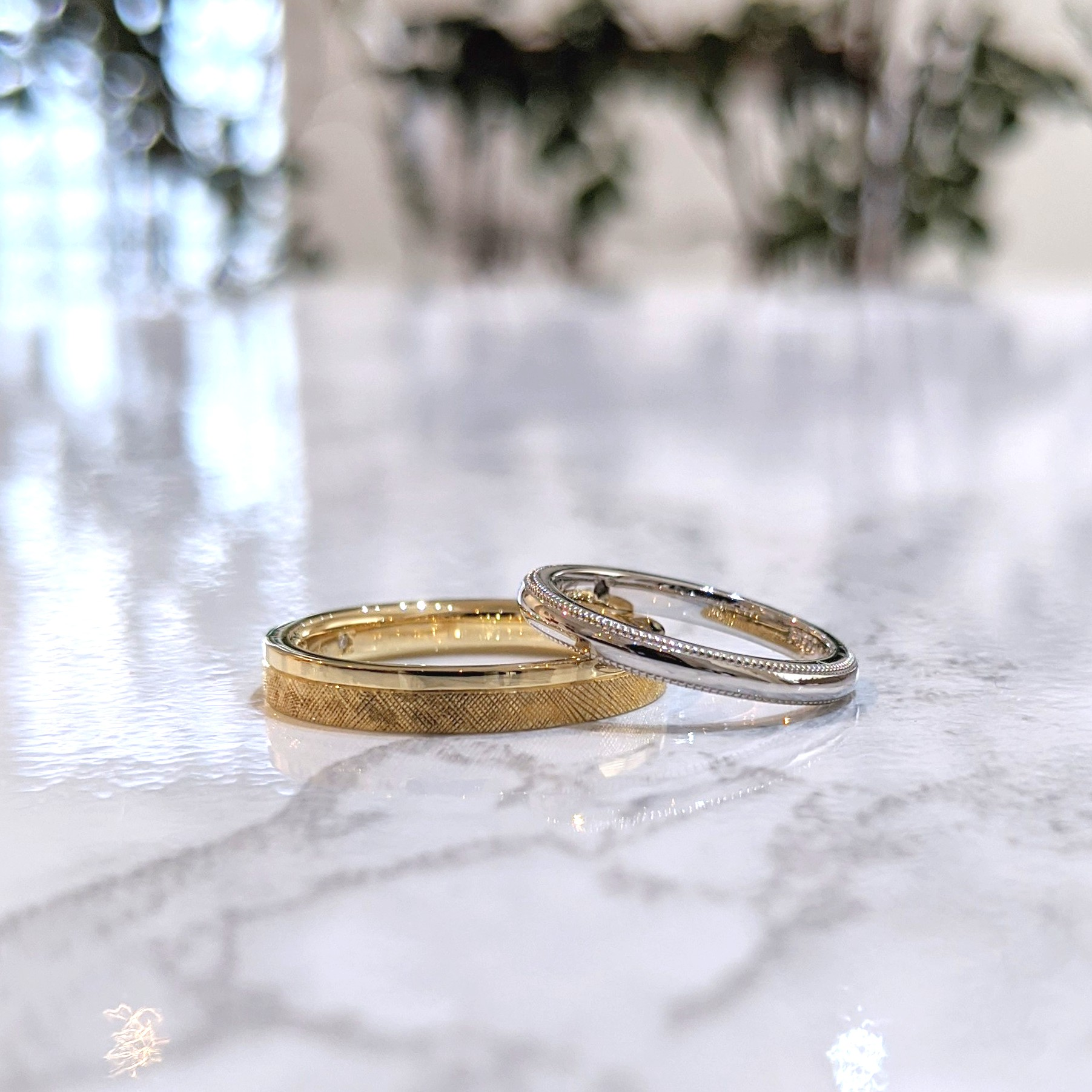 オーダーメイドの結婚指輪