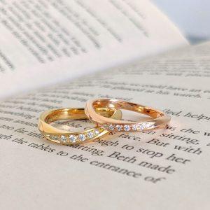 色違いの結婚指輪