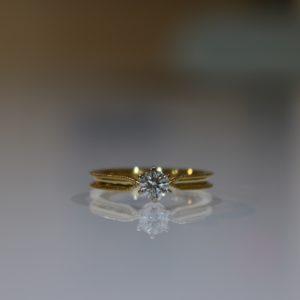 婚約指輪のサイズについて|最適なサイズ選びとは