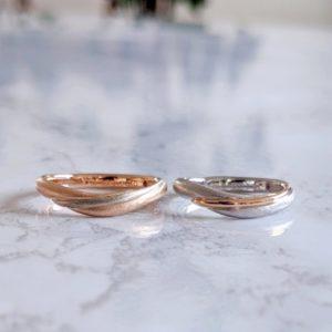 """直感を信じて選ぶ""""しっくりときた""""結婚指輪"""