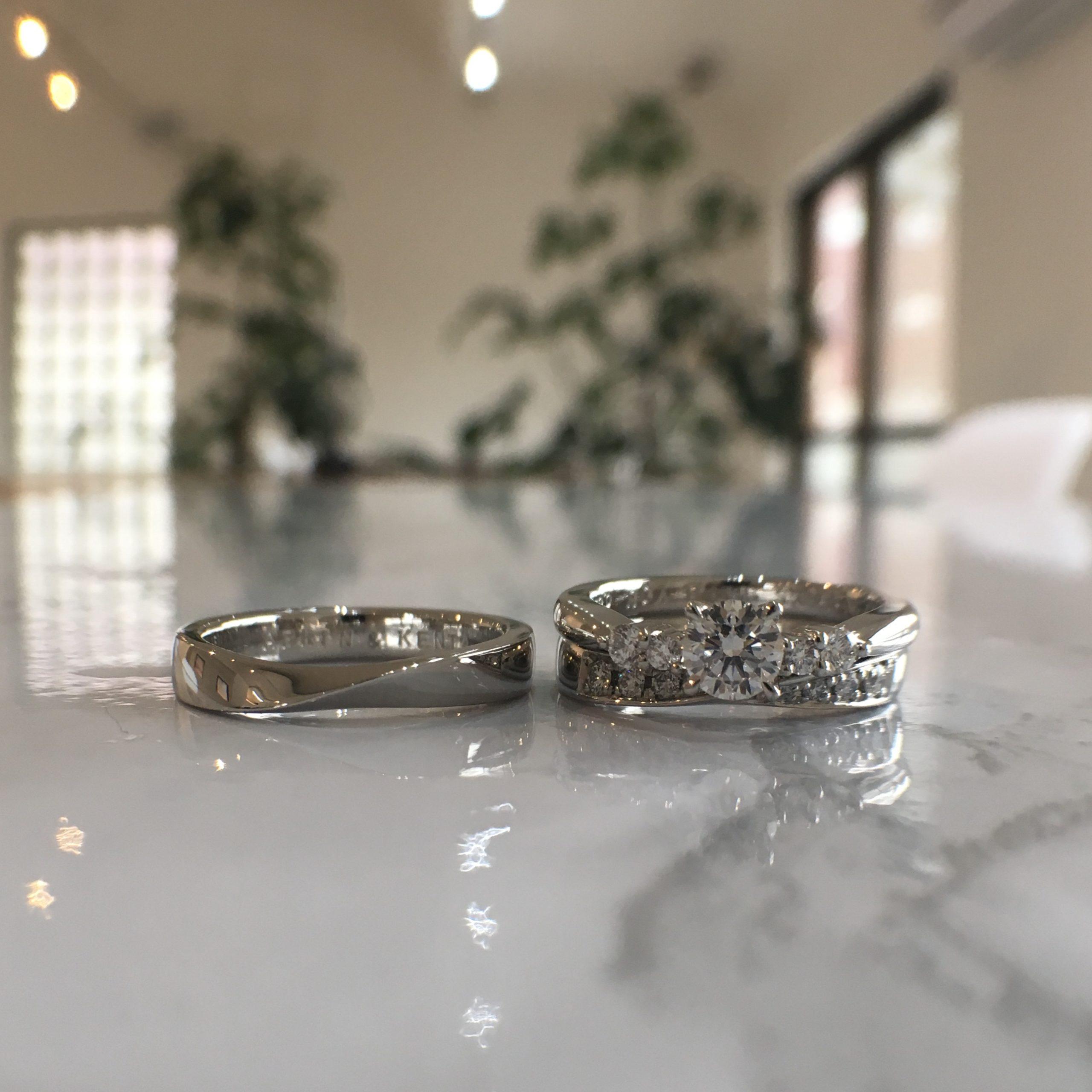 フルオーダーの結婚指輪