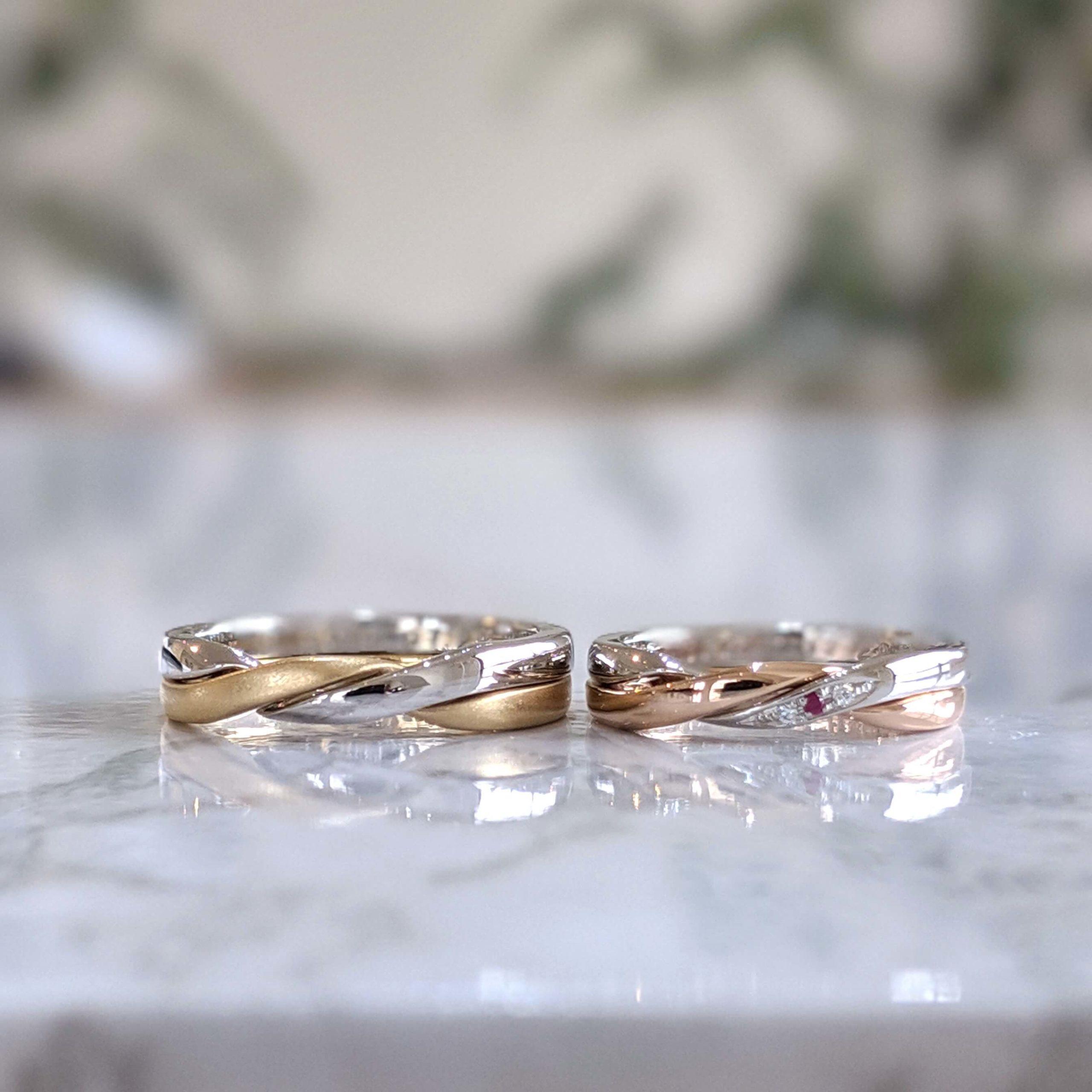 結婚指輪のギメルリング