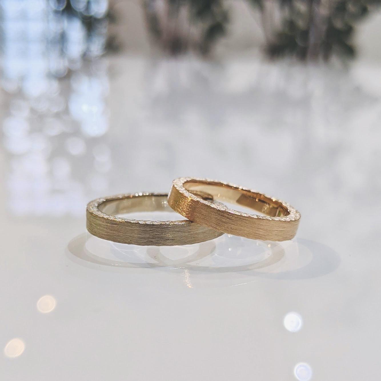 オリジナルの結婚指輪