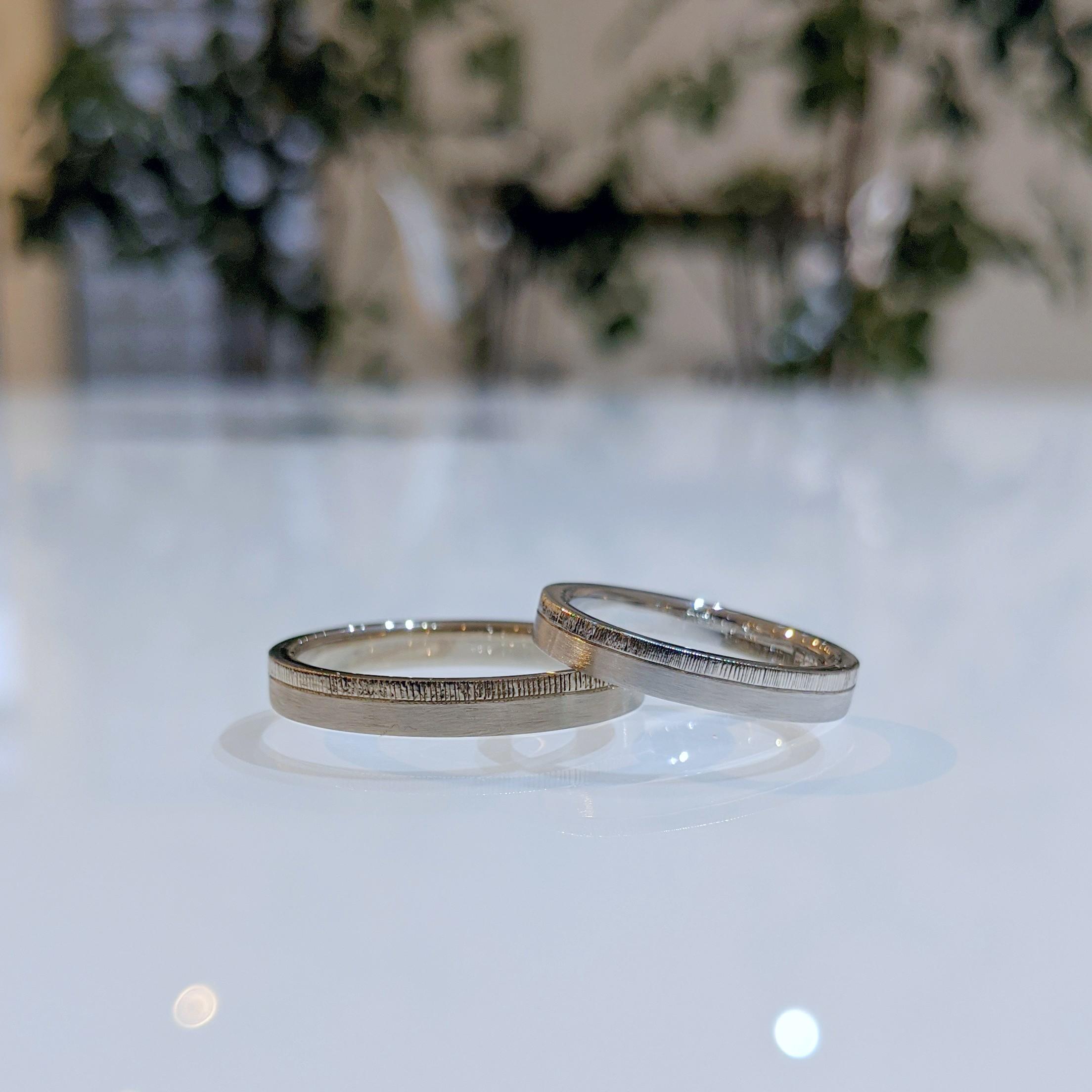 """""""合いの手リング""""と名付けたお気に入りの結婚指輪"""