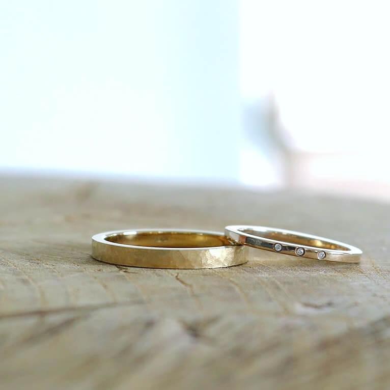 マット(つや消し)の結婚指輪