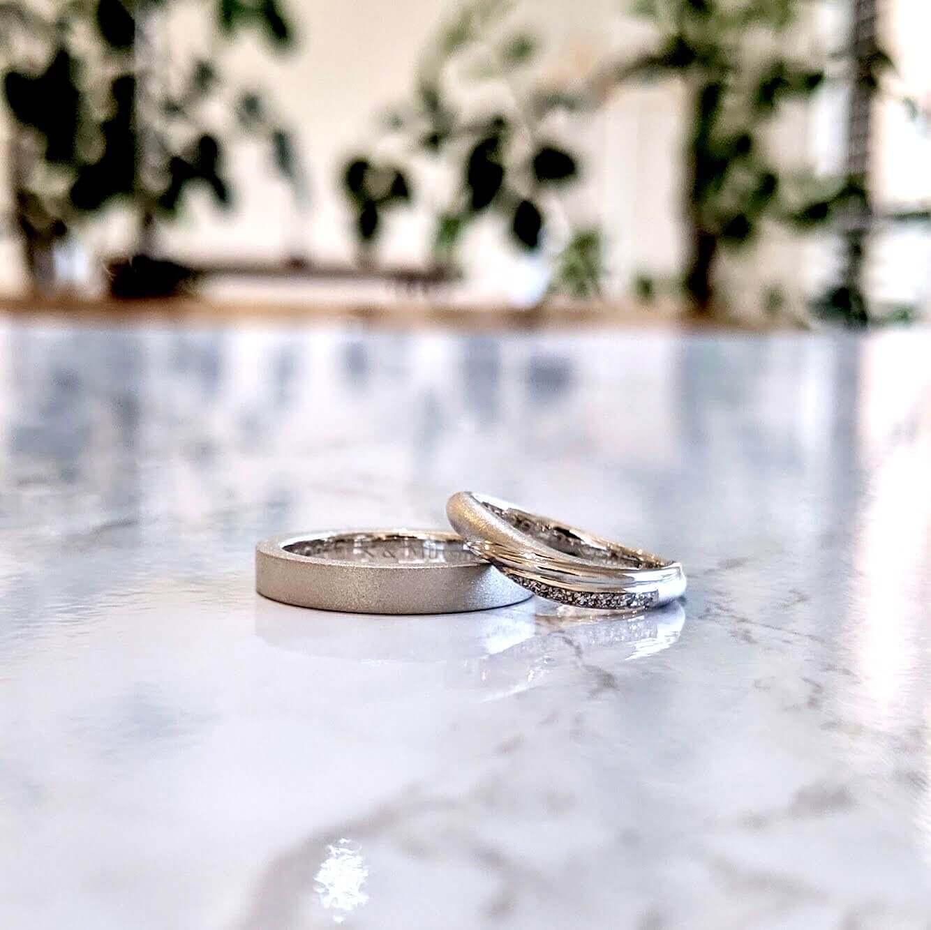 結婚指輪の形について|さまざまなフォルムの紹介