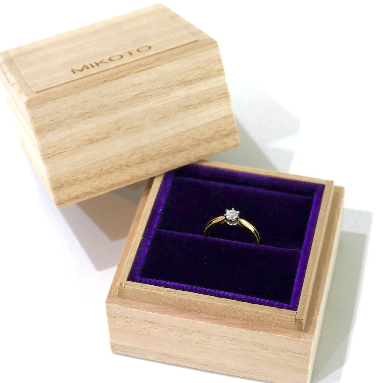 クラシック(クラシカル)なデザインの結婚指輪と婚約指輪の紹介