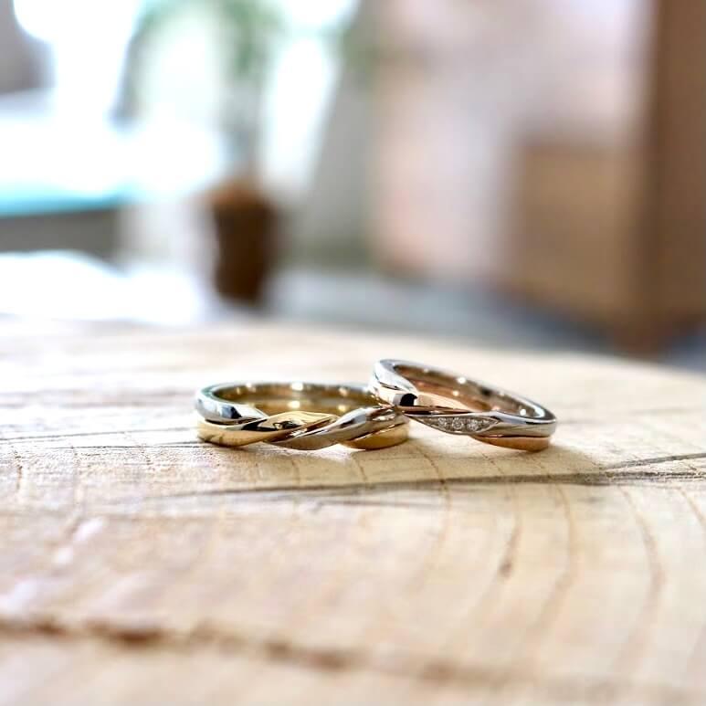 結婚指輪の色(素材)について|さまざまな色の結婚指輪の紹介