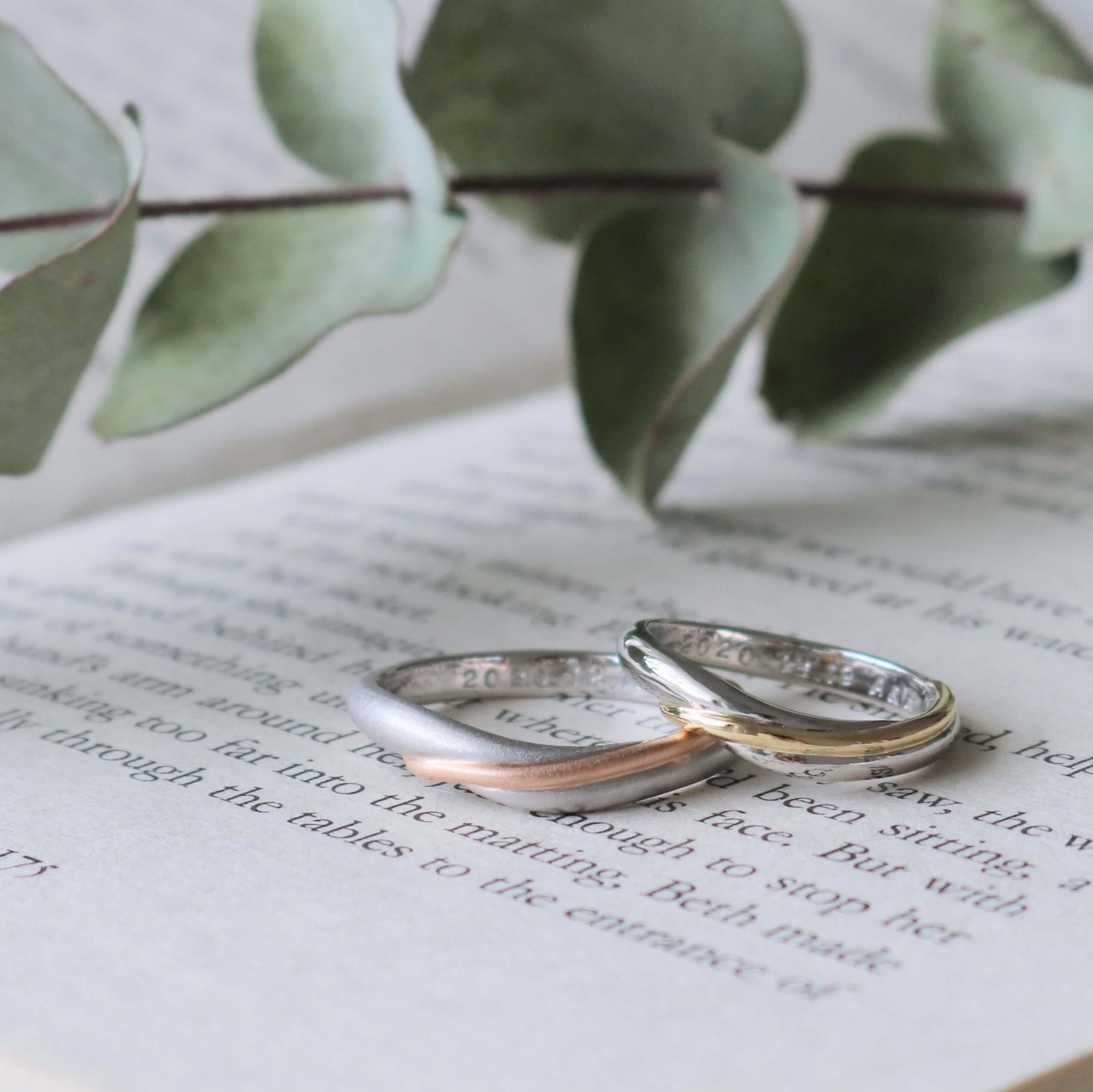 コンビリングの結婚指輪