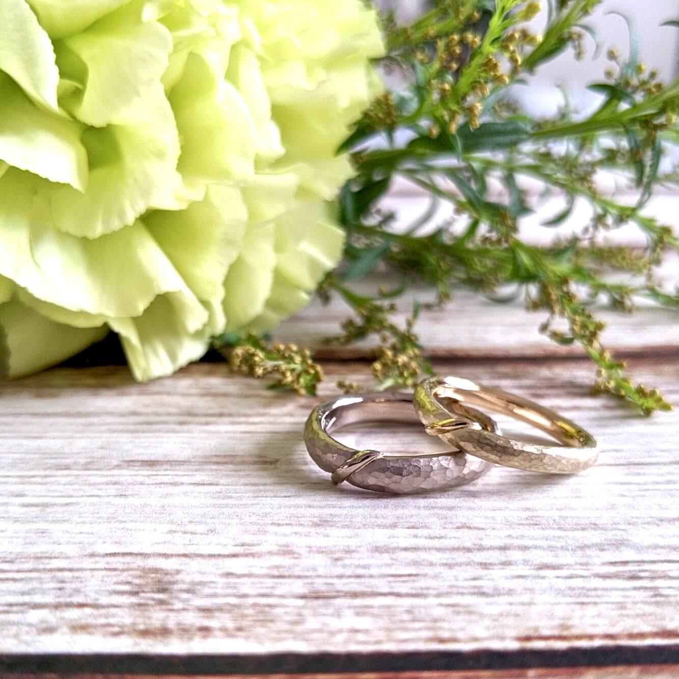 デザインが被らない珍しい結婚指輪|オーダーメイドでつくる魅力