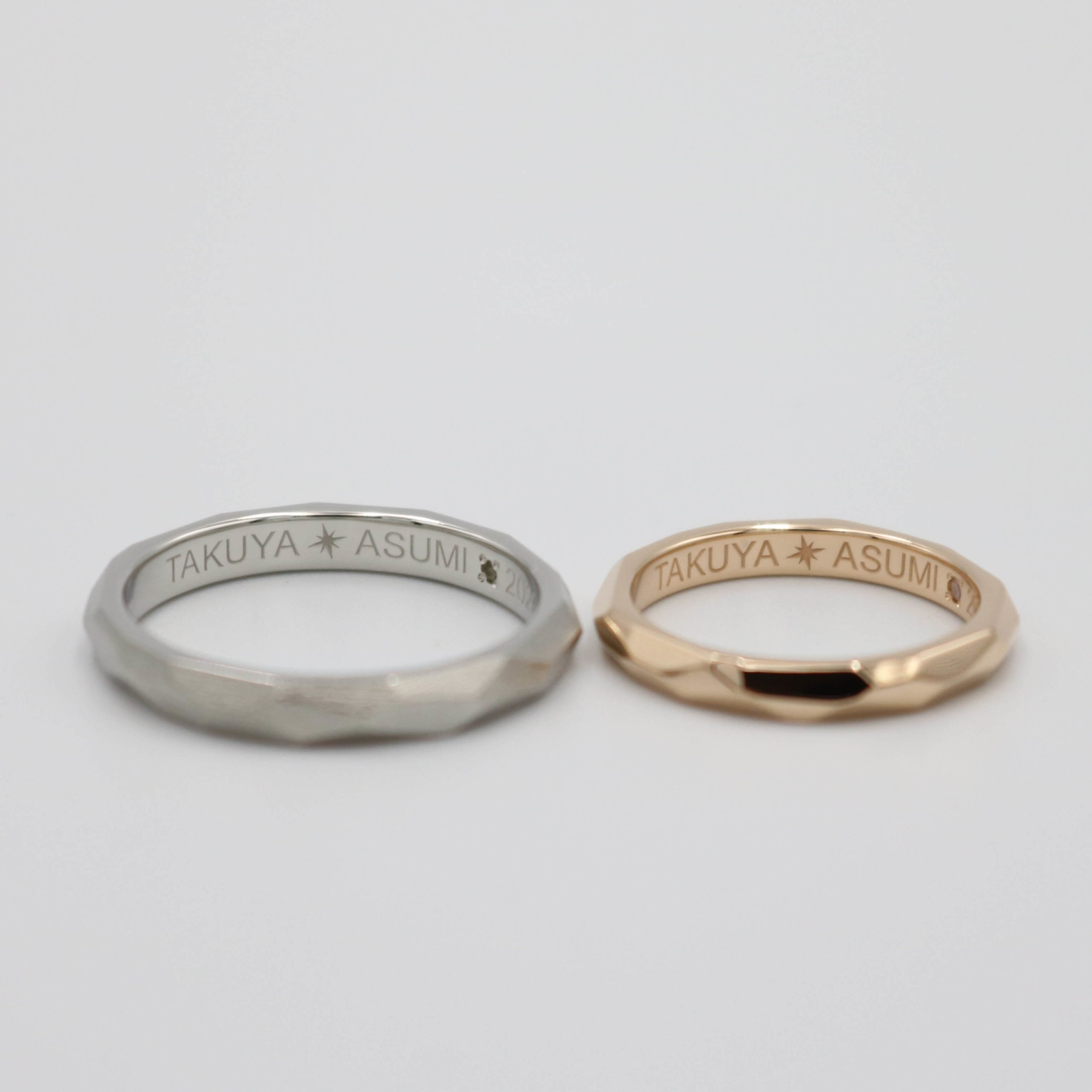 結婚指輪の内側(裏側)について|様々な刻印アレンジの紹介