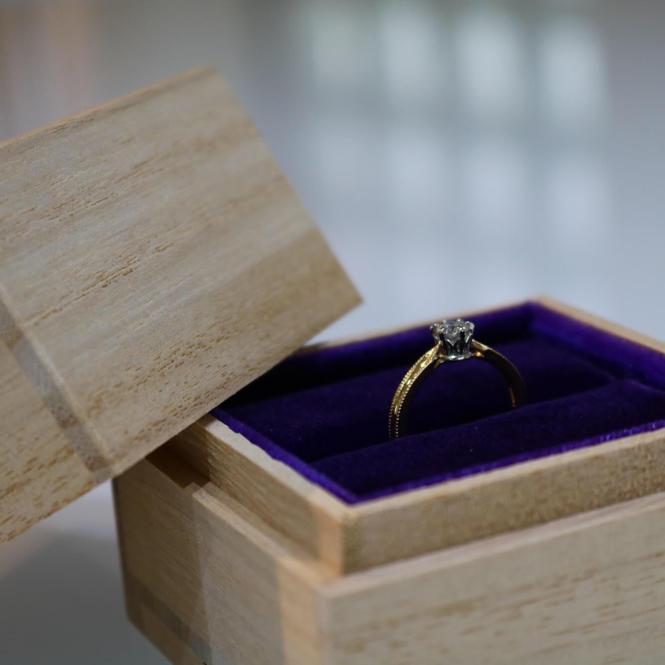 婚約指輪のセミオーダーについて|魅力とデザインの紹介