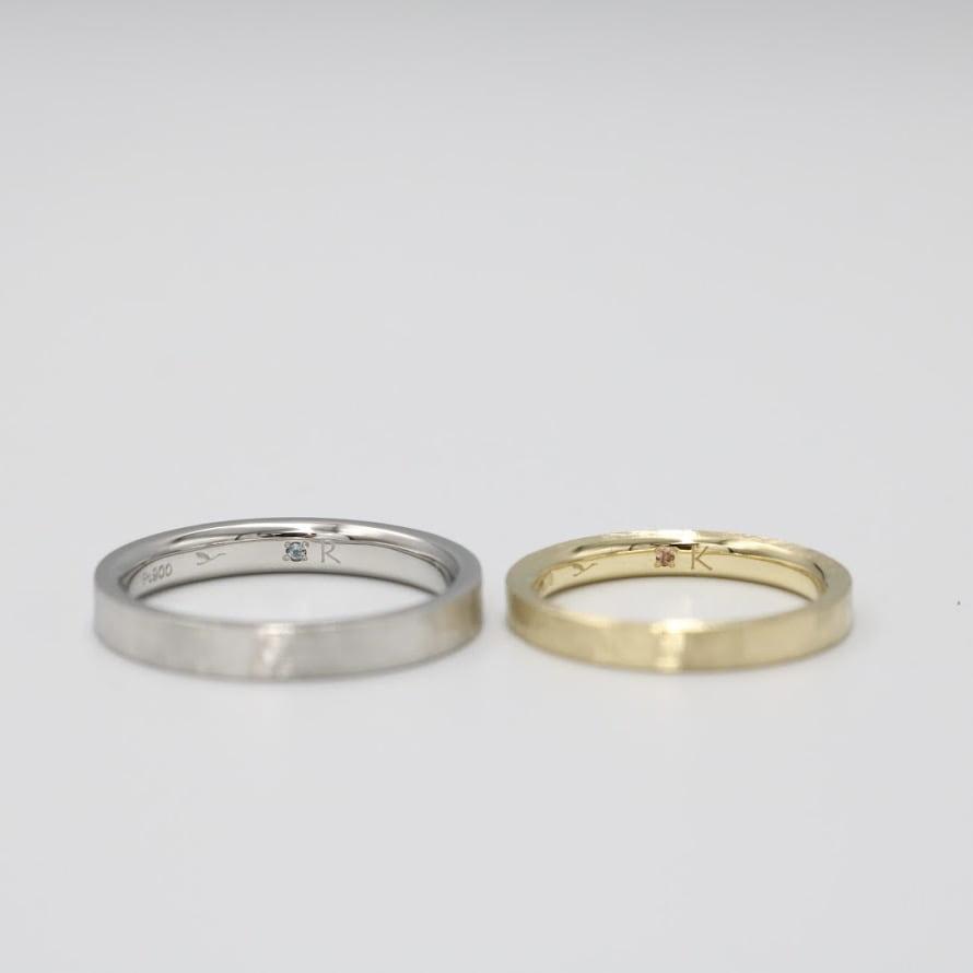 シークレットストーンをあしらった特別な結婚指輪|宝石と魅力について